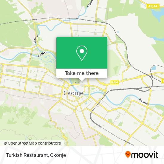 Turkish Restaurant map