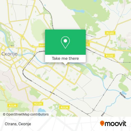 Ctrans map