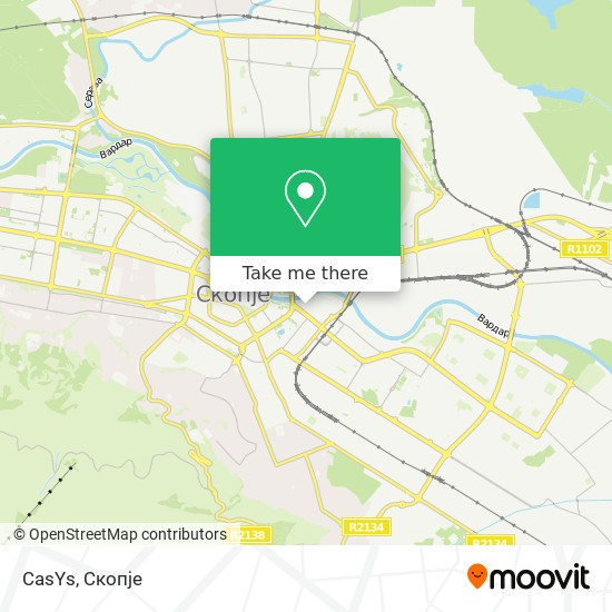 CasYs map