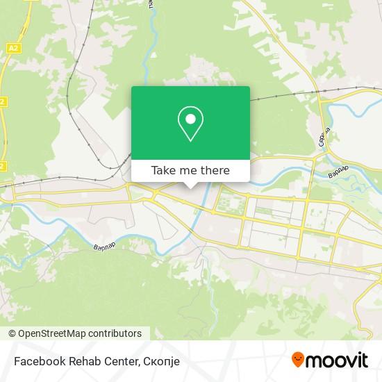 Facebook Rehab Center map
