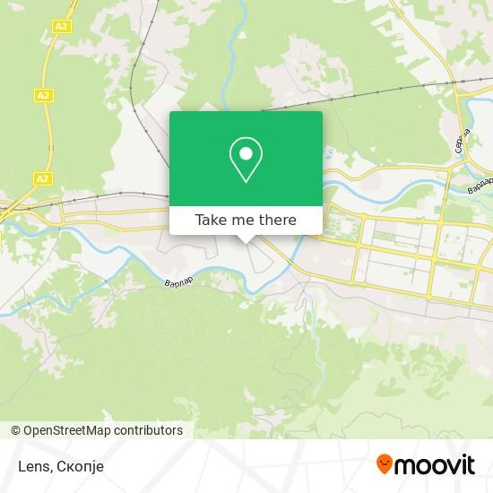 Lens map