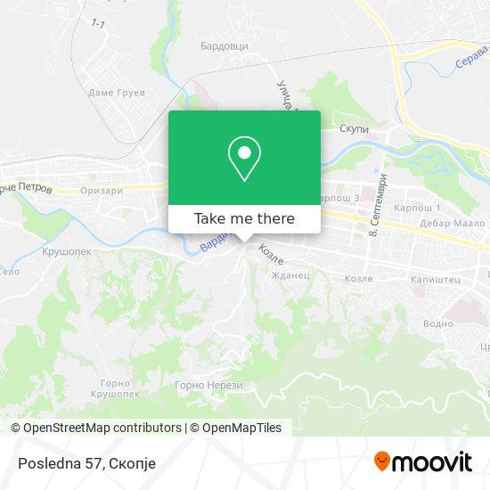 Posledna 57 map