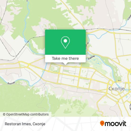 Restoran Imes map