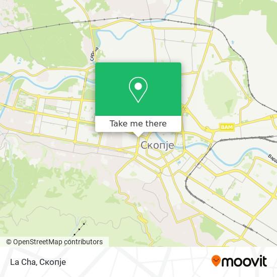 La Cha map