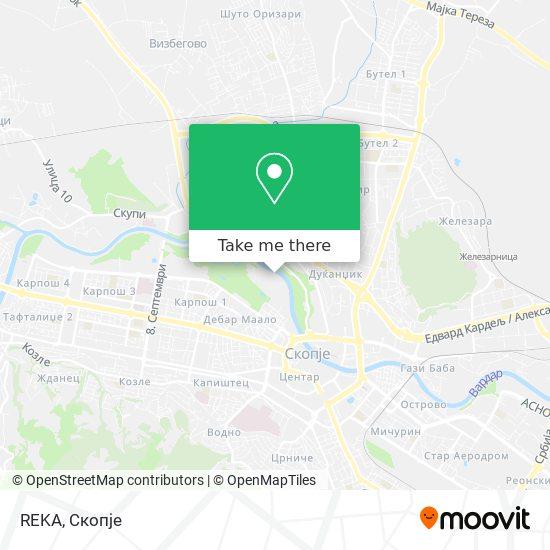 REKA map