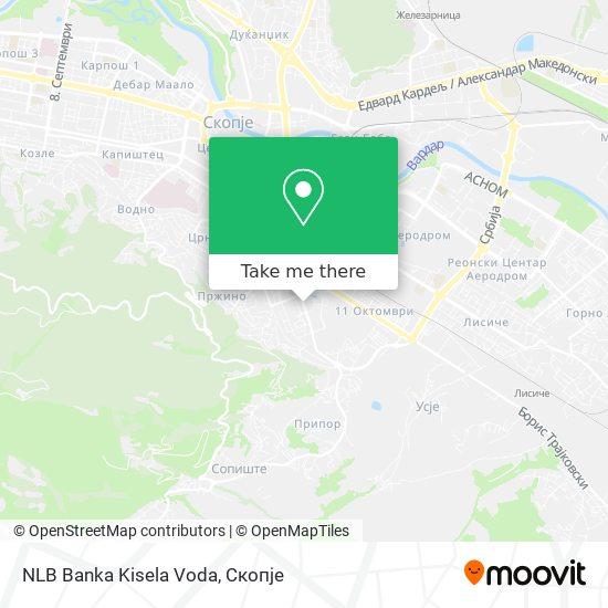 NLB Banka Kisela Voda map