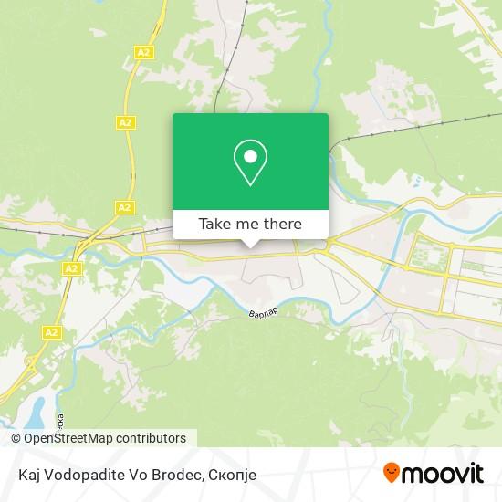 Kaj Vodopadite Vo Brodec map