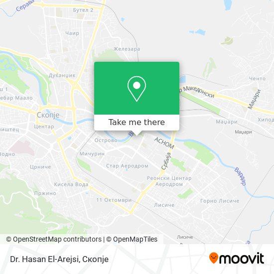 Dr. Hasan El-Arejsi map