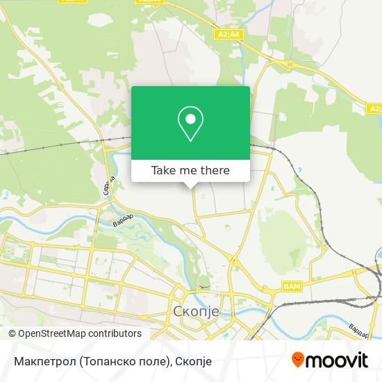 Макпетрол (Топанско поле) map