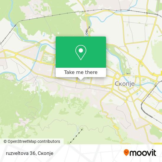 ruzveltova 36 map