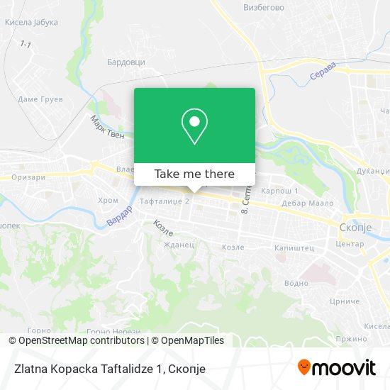 Zlatna Kopacka Taftalidze 1 map