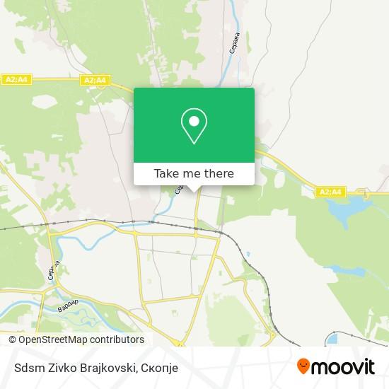 Sdsm Zivko Brajkovski map