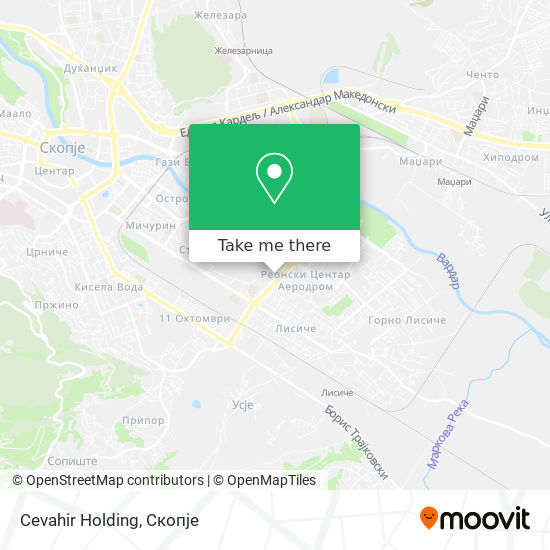 Cevahir Holding map