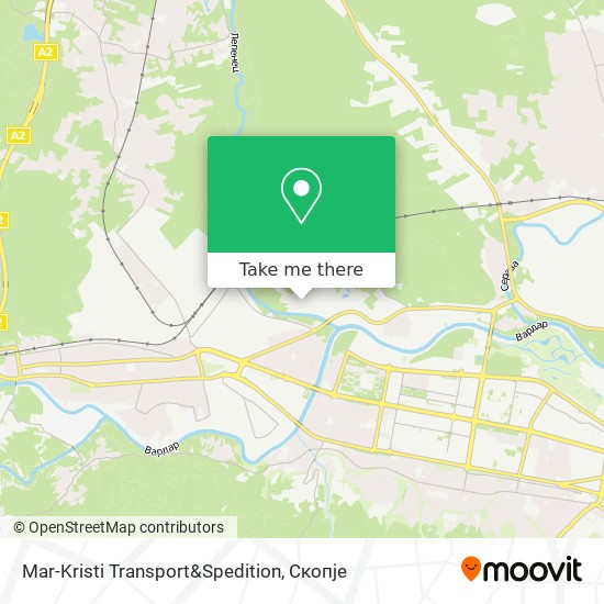 Mar-Kristi Transport&Spedition map