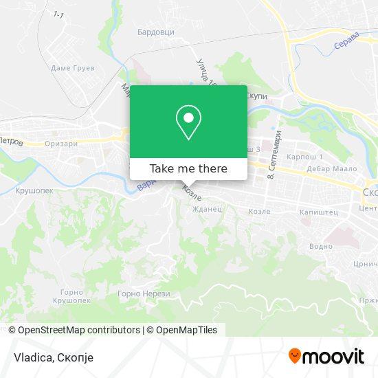 Vladica map
