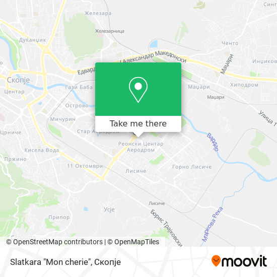 "Slatkara ""Mon cherie"" map"