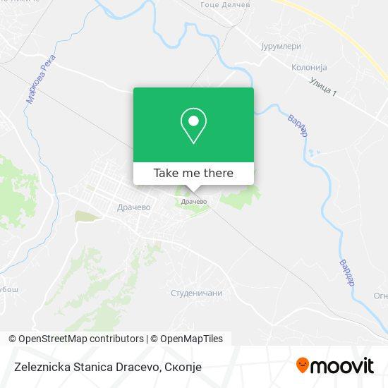 Zeleznicka Stanica Dracevo map
