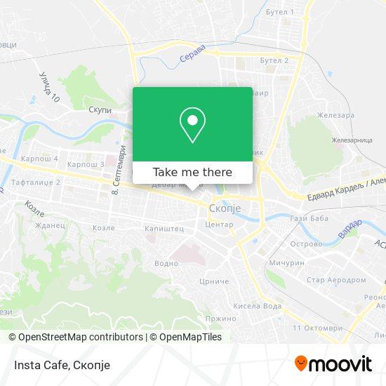Insta Cafe map