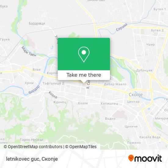 letnikovec guc map