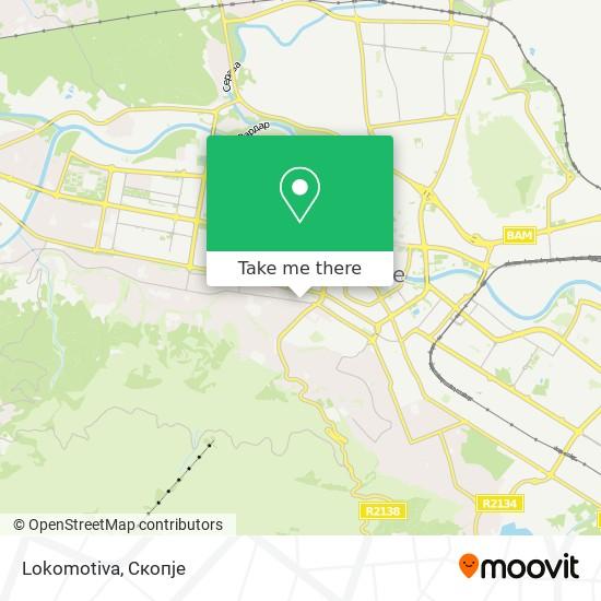 Lokomotiva map