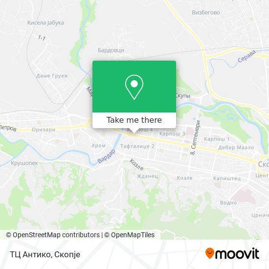 ТЦ Антико map