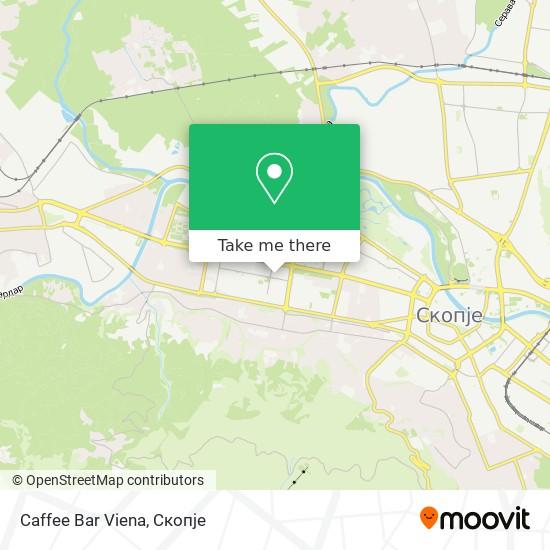 Caffee Bar Viena map