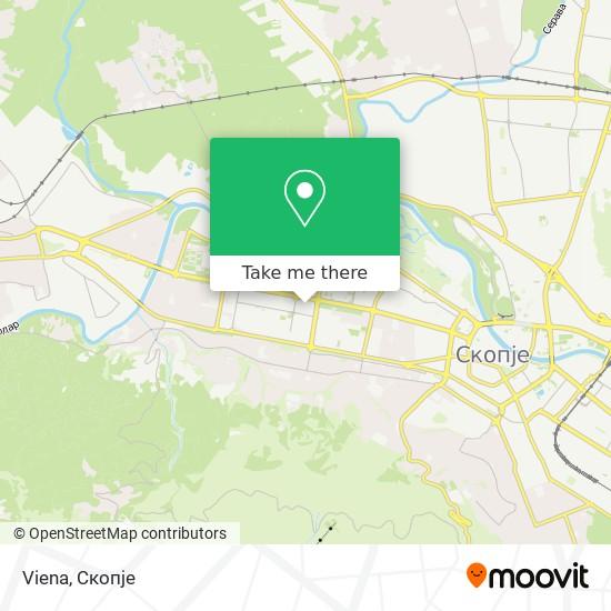 Viena map