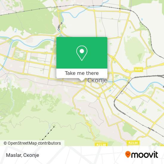 Maslar map