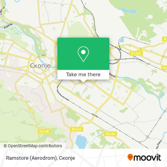 Ramstore (Aerodrom) map