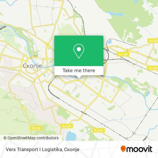 Vers Transport I Logistika map