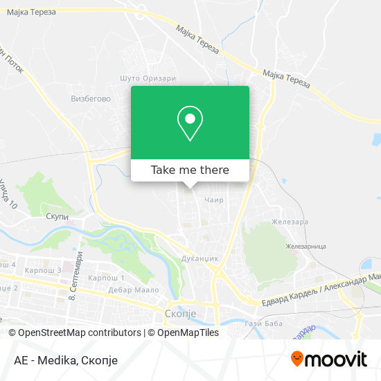 AE - Medika map