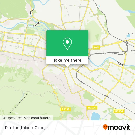 Dimitar (tribini) map