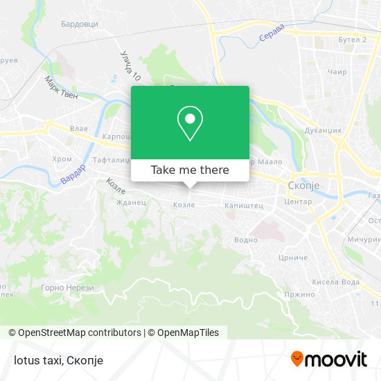 lotus taxi map
