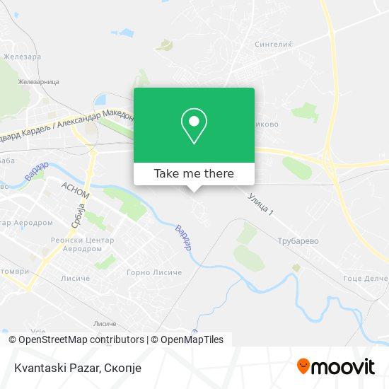 Kvantaski Pazar map
