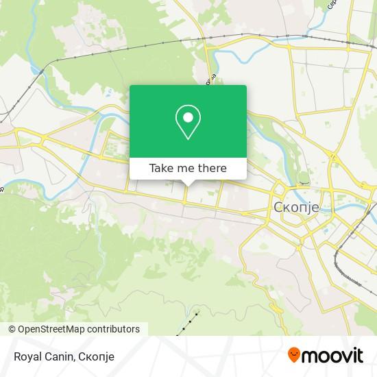 Royal Canin map