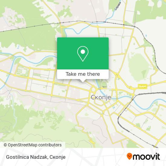 Gostilnica Nadzak map
