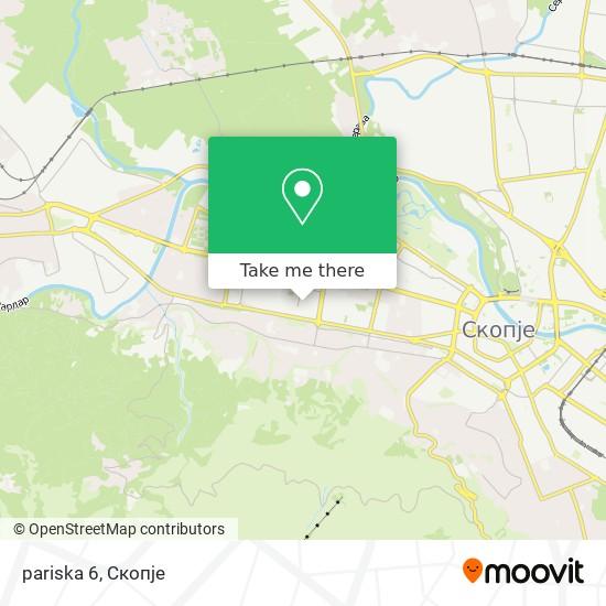 pariska 6 map