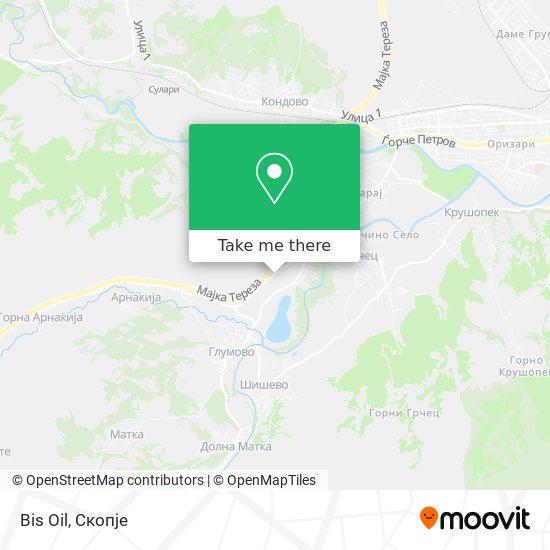 Bis Oil map