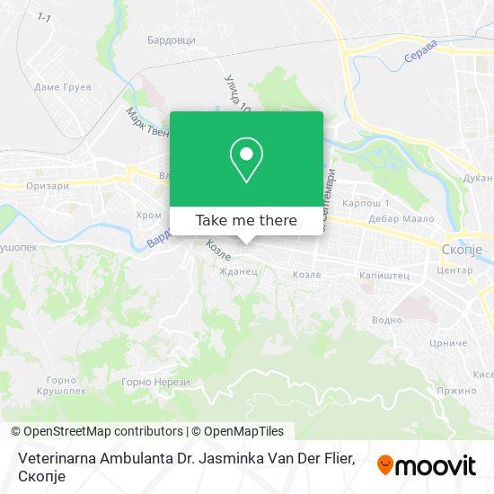 Veterinarna Ambulanta Dr. Jasminka Van Der Flier map