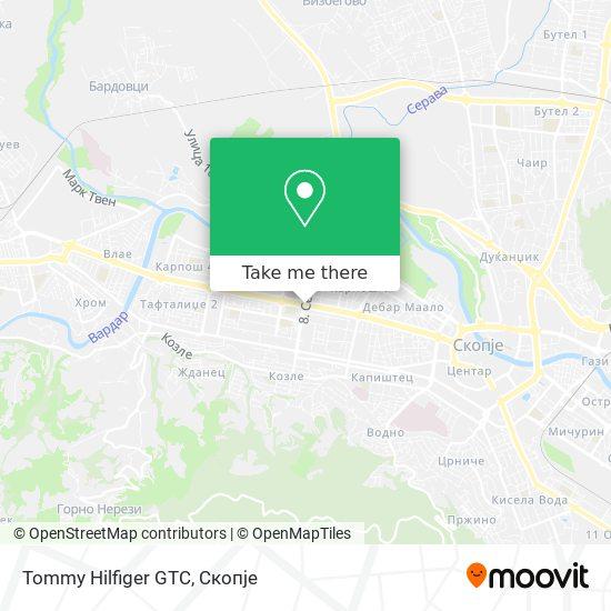 Tommy Hilfiger GTC map