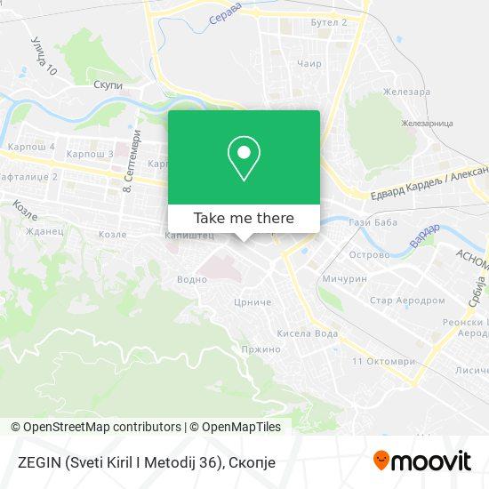 ZEGIN (Sveti Kiril I Metodij 36) map