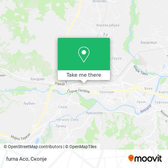 furna Aco map