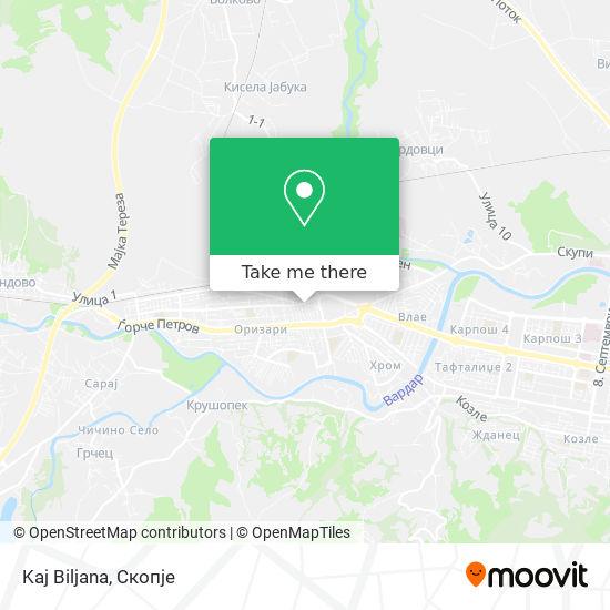 Kaj Biljana map