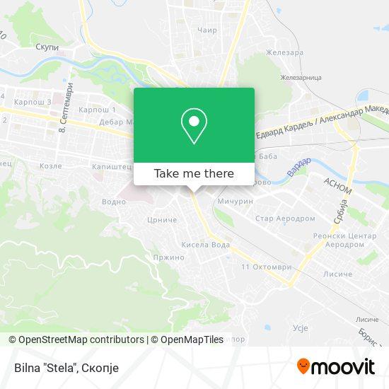 "Bilna ""Stela"" map"