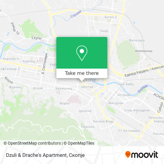 Dzuli & Drache's Apartment map