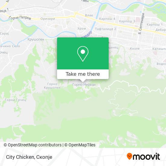 City Chicken map