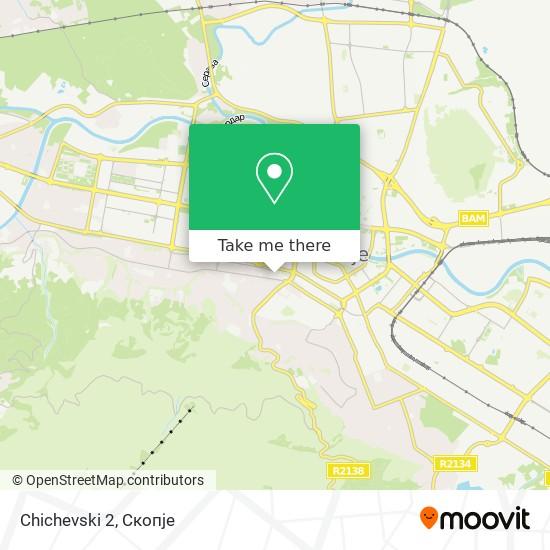 Chichevski 2 map