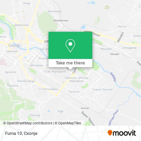 Furna 10 map