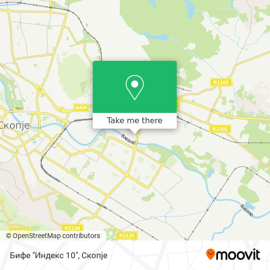 """Бифе """"Индекс 10"""" map"""