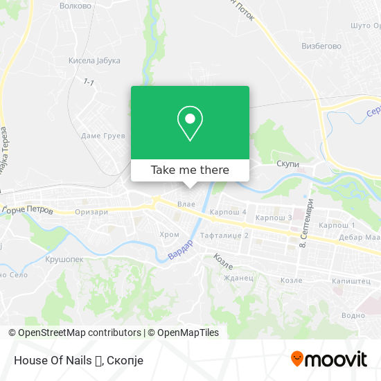 House Of Nails 💅 map